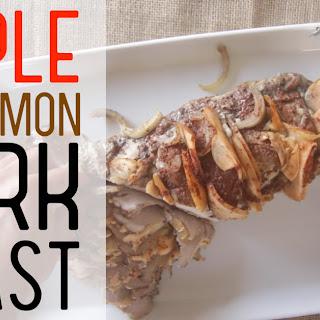 Honey, Apple Cinnamon Pork Roast