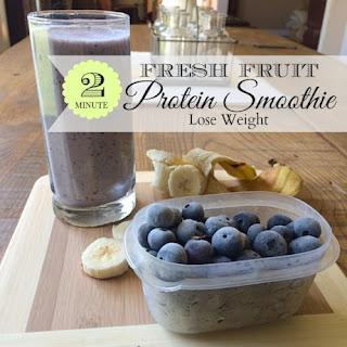 2 Minute Protein Smoothie