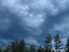 Photo: In the sky--the face of Burhan? (The spirit of Siberia)