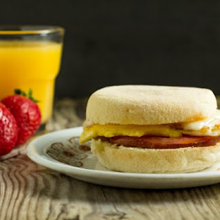 Bacon Tomato Swiss Breakfast Sandwich