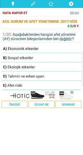 ATATÜRK ÜNİVERSİTESİ AÖF(ATA AÖF) ÇIKMIŞ SORULAR screenshot 7