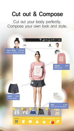 fitUin-Wardrobe style editor