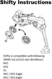 Bike Yoke Shifty - Replacement SRAM Cable Pulley alternate image 0
