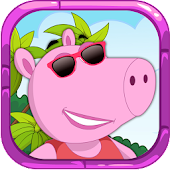 Pepy Pig Puzzle Game Sports
