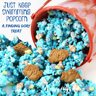 Just Keep Swimming Popcorn Finding Dory Treats