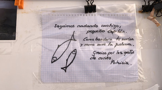 El pequeño Gabriel en el recuerdo y el mensaje de Patricia