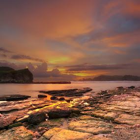 Golden Hour by David Loarid - Landscapes Sunsets & Sunrises