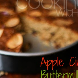 {Delicious and Moist} Apple Cinnamon Buttermilk Cake