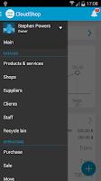 Screenshot of CloudShop