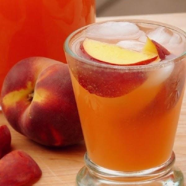Easy Peach Lemonade, Iris Recipe