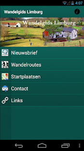 Wandelgids Limburg- screenshot thumbnail
