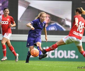 Anderlecht-youngster nu ook officieel deel van selectie Red Flames
