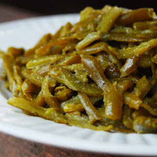 Easy Canned Green Bean.