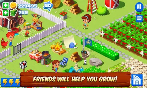 Green Farm 3 MOD APK (Unlimited Money) 4