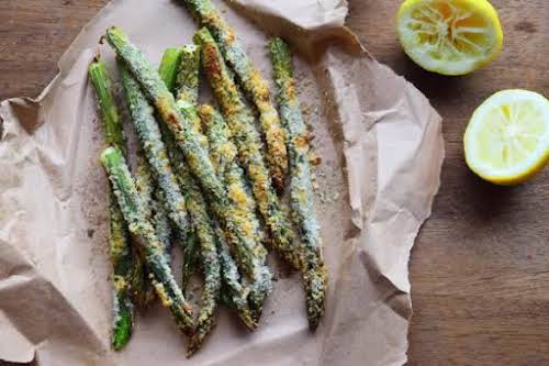 "Asparagus Fries ""For a healthy and delicious alternative to fries, you've got..."