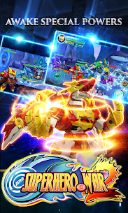 Superhero War: Robot Fight – City Action RPG 2