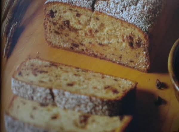 Lemon Chocolate Chip Bread