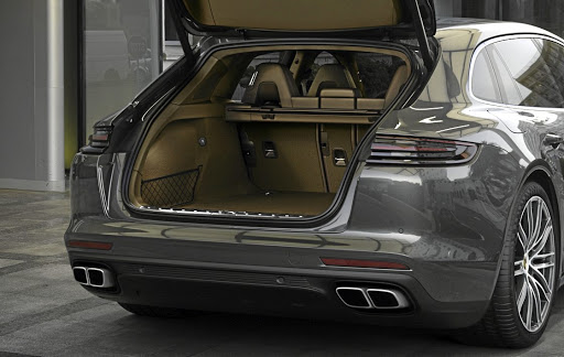 The body style makes for additional luggage space. Picture: PORSCHE