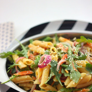 Sweet And Spicy Summer Garden Pasta