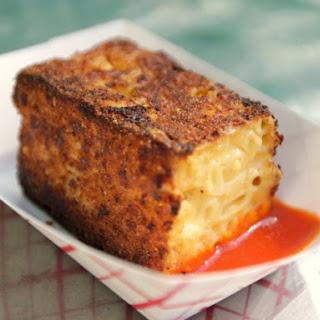 Griddled Mac 'N' Cheese.