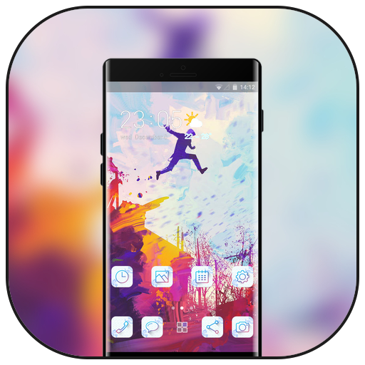 Theme for htc desire626G plus Dual SIM youth color icon