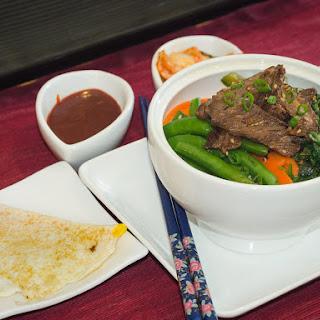 Bi-Bim-Bap with Beef Bulgogi