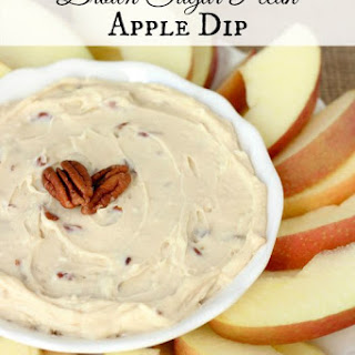 Brown Sugar Pecan Apple Dip.