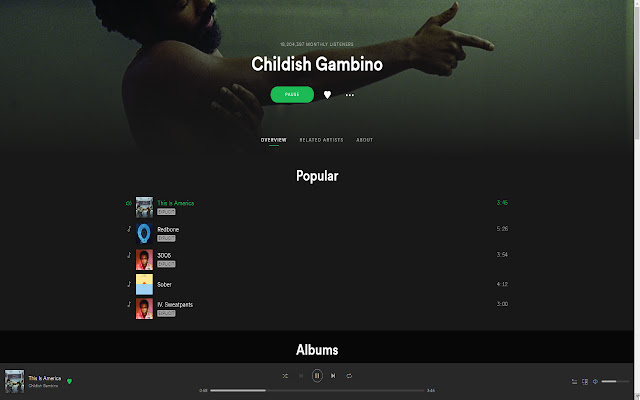 Gambino Gunshot Gainer