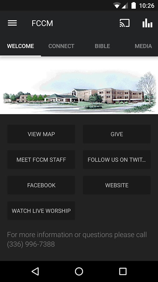 FCCM Kernersville- screenshot