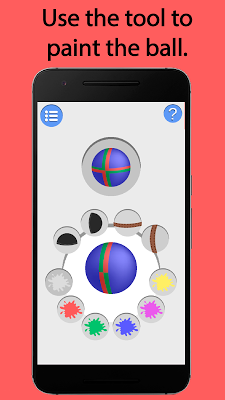 Spray Ball – Brain challenge - screenshot