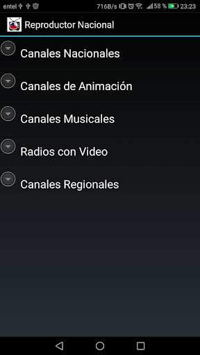 Reproductor TV Chilena 4.1.1 screenshots n 2