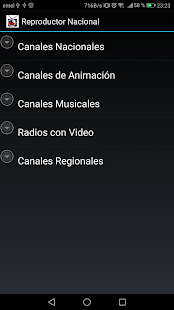 Reproductor TV Chilena Screenshot