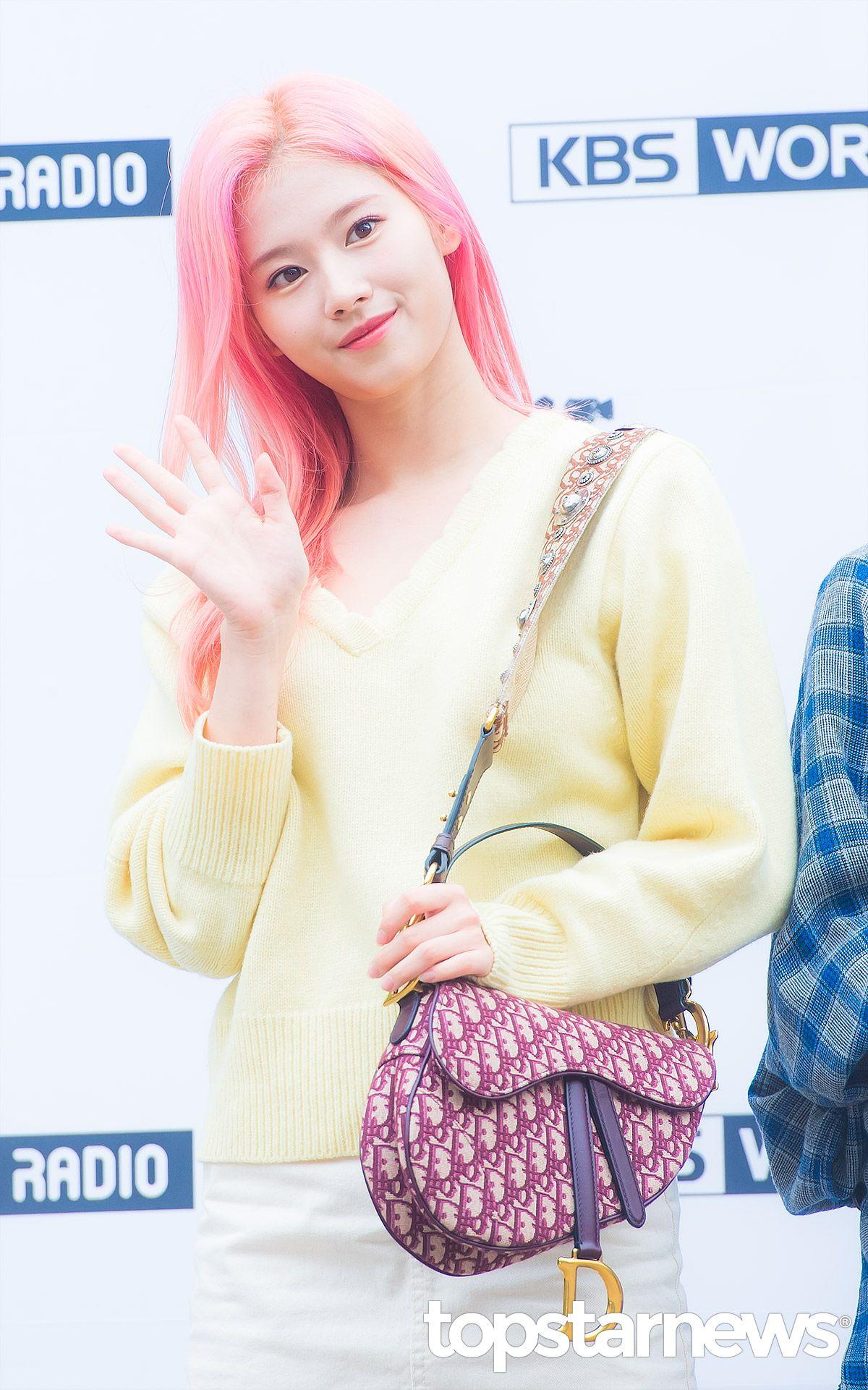 sana pink hair1