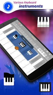 Real Piano Keyboard : Digital Screenshot