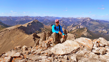 Photo: I am on the summit - Camera pointed NNW