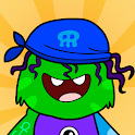 My Monster Town - Playhouse Games for Kids icon