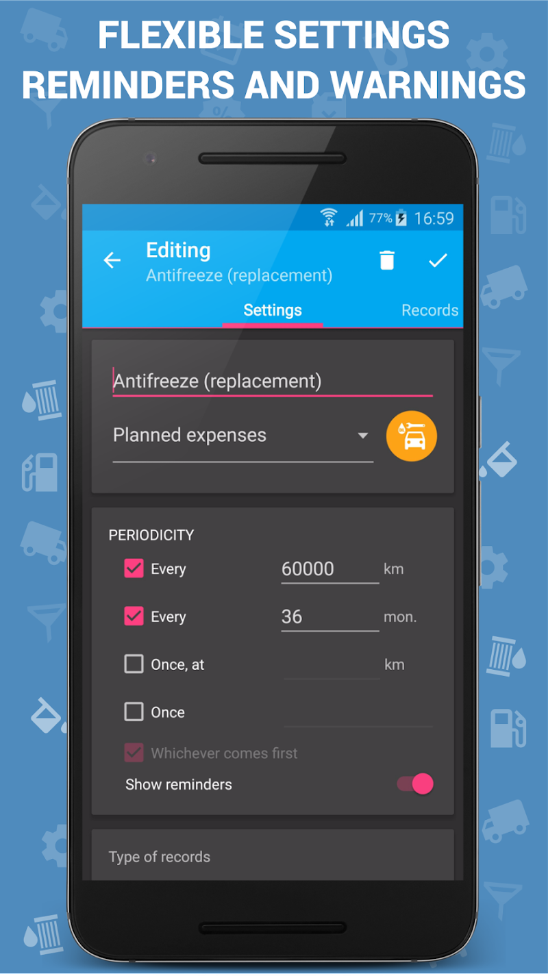 Car Expenses Pro (Manager) Screenshot 7