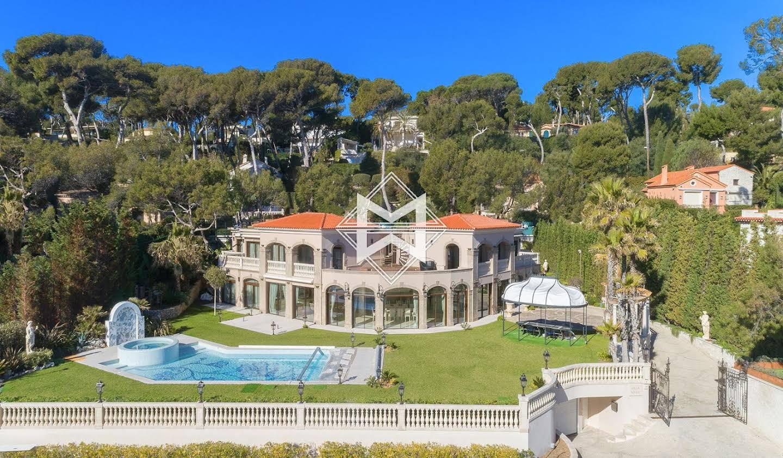 Villa avec jardin et terrasse Cap d'Antibes