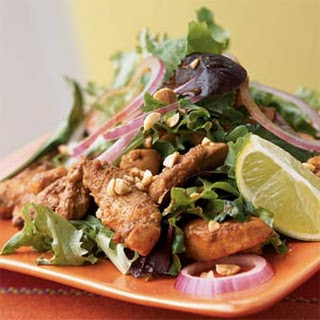 Stir-Fried Chicken Salad