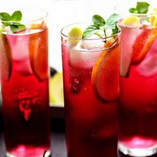 Apple Pomegranate Spritzers Recipe