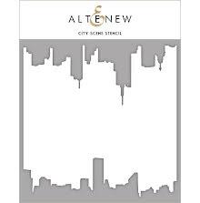 Altenew Stencil 6X6 - City Scene
