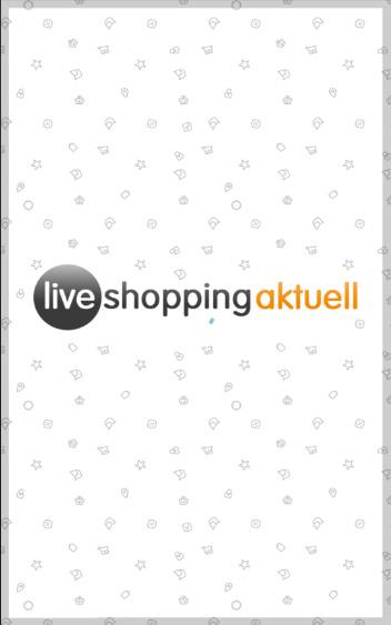 Liveshopping-App- screenshot
