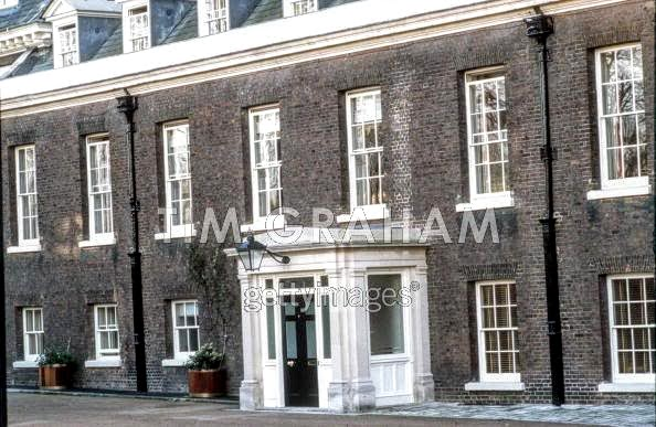 And Finally Across From Diana S Front Door Is The Tiny Nottingham Cottage Or Nottcott As It Called Where Harry Meghan Live
