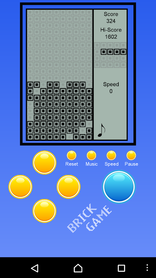 Brick Classic - Brick Game- screenshot