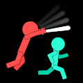 Catch You: 1 to 10 Player Stickman Fighting Game