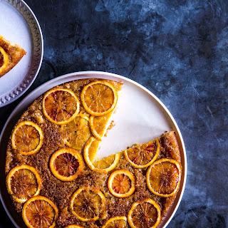 Blood Orange Buttermilk Upside-Down Cake