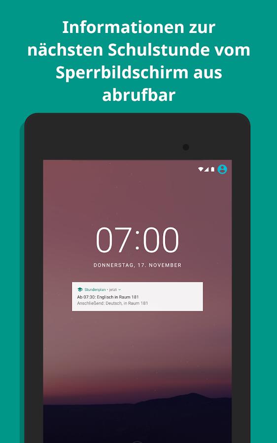 stundenplan android apps on google play. Black Bedroom Furniture Sets. Home Design Ideas