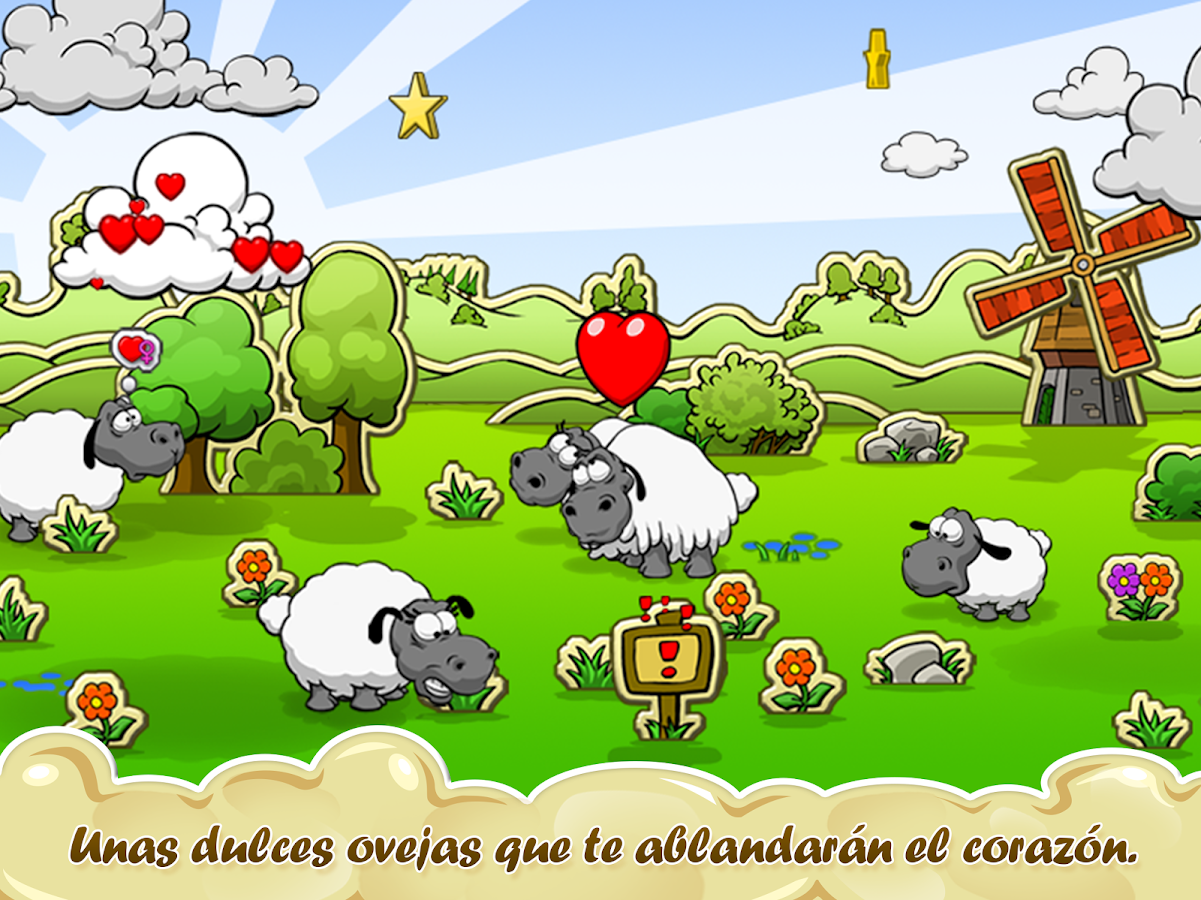 Clouds & Sheep: captura de pantalla
