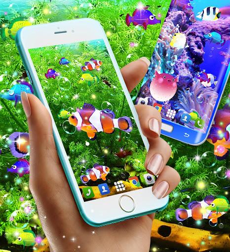 Fish live wallpaper 8.8 screenshots 2