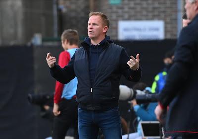 """Wouter Vrancken was woest tijdens de rust van STVV-KV Mechelen: """"Mannen tegen jongens was het"""""""